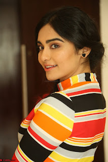 Adha Sharma in a Cute Colorful Jumpsuit Styled By Manasi Aggarwal Promoting movie Commando 2 (100).JPG