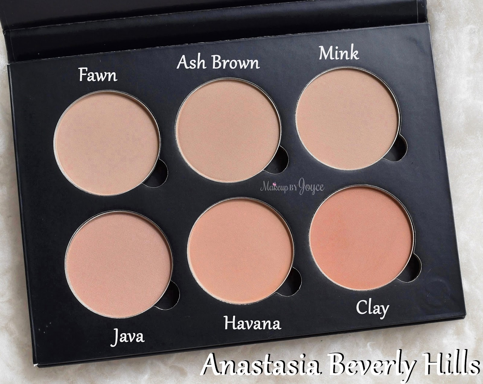 ❤ MakeupByJoyce ❤** !: Swatches + Comparisons: Matte Contouring ...