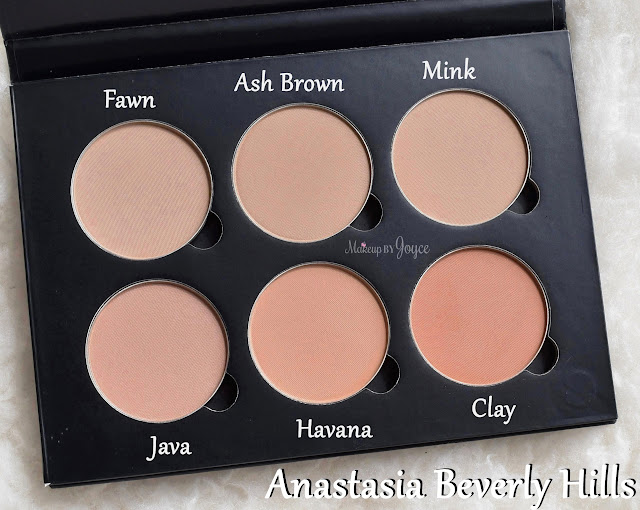 Anastasia Beverly Hills Contour Kit Custom Palette Contour Refill Matte Powder Review Swatches
