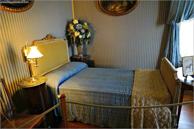 Dormitorio de William K. Vanderbilt Jr. en Marble House, Newport