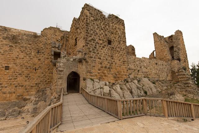 Entrada al Castillo de Ajlun