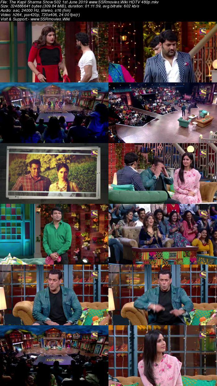 The Kapil Sharma Show S02 1st June 2019 Full Show Download HDTV HDRip 480p