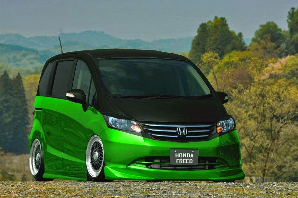 Kumpulan Foto Hasil Modifikasi Honda Freed Terbaru  Modif