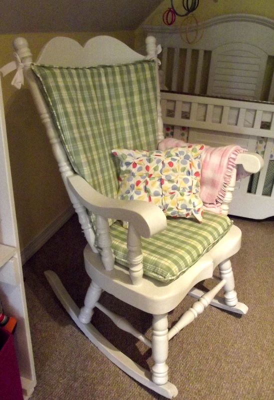 Morning by Morning Productions Rocking Chair Cushion