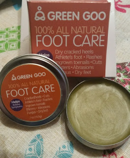green good foot care tin