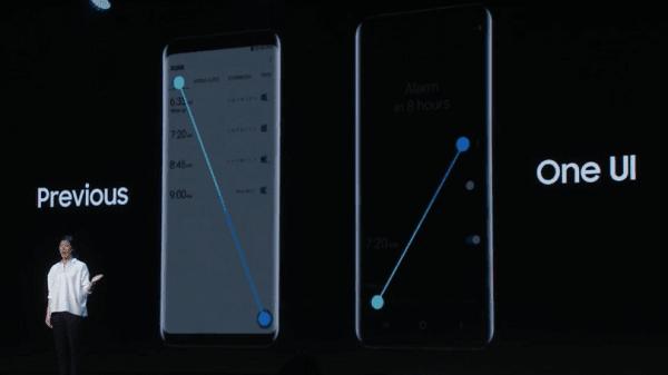 واجهة سامسونج الجديدة تجعل هواتفها أكثر سهولة للاستخدام اليدوي