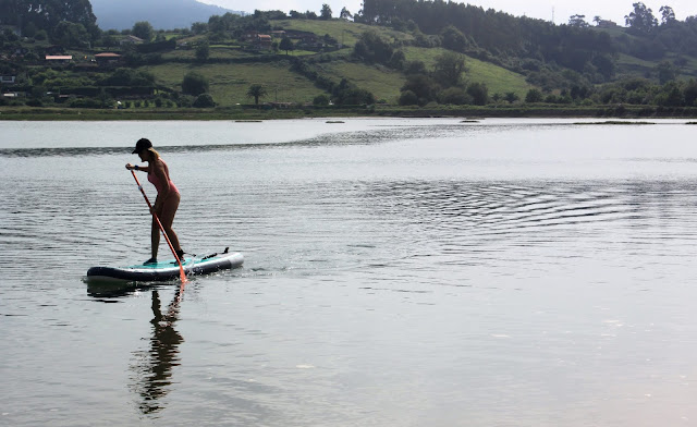 tabla Paddle Surf Hinchable de Decathlon