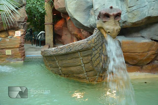 Aqua Mundo i atrakcjew  Center Parcs Bispinger Heide.