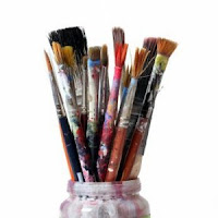 Artist brushes artist tips