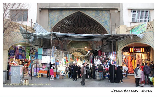 Iran: Alone in Tehran at Grand Bazaar - Ramble and Wander