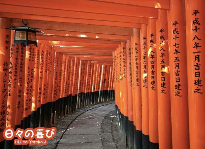 Sanctuaire Fushimi Inari-taisha à Kyoto.