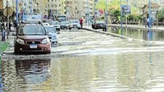 مصر معرضة لاستقبال سيول وأمطار غزيرة فيديو