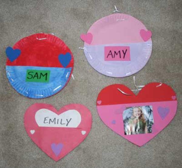 Sunday School Valentine Crafts Toddlers