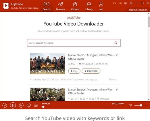 تحميل ANYUTUBE مجانا برنامج تنزيل وتحويل مقاطع الفيديو والموسيقى على YouTube