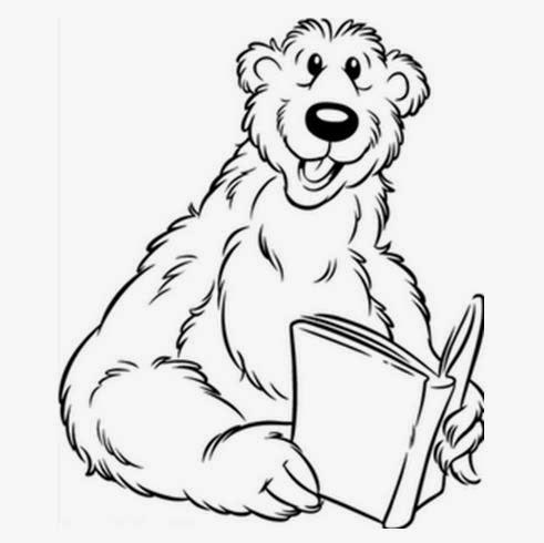 Desenhos De Ursinhos Para Colorir So Escola