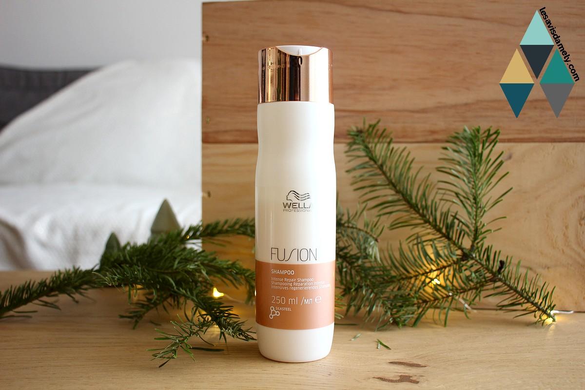 avis shampooing cheveux secs et désséchés Fusion Wella Professionals