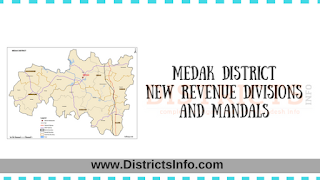 Medak District New Revenue Divisions and Mandals