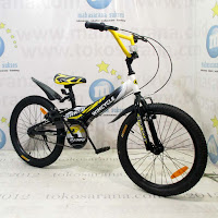 Sepeda BMX Wimcycle Shred 20 Inci