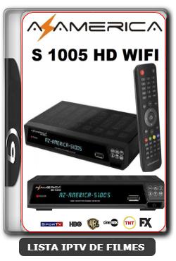 Atualização S1005 HD Canais HD ON com CS