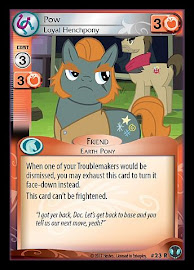 My Little Pony Pow, Loyal Henchpony Defenders of Equestria CCG Card