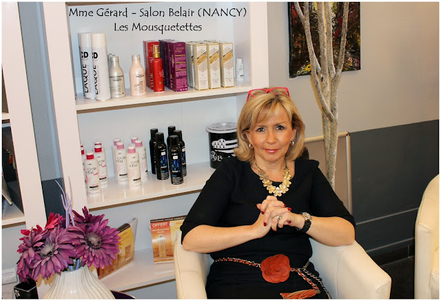 Mme Gérard - Salon de coiffure Belair Nancy (54000) - Les Mousquetettes©