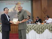Walikota Kagoshima, Jepang Terkesan Penangganan Bencana Erupsi Sleman