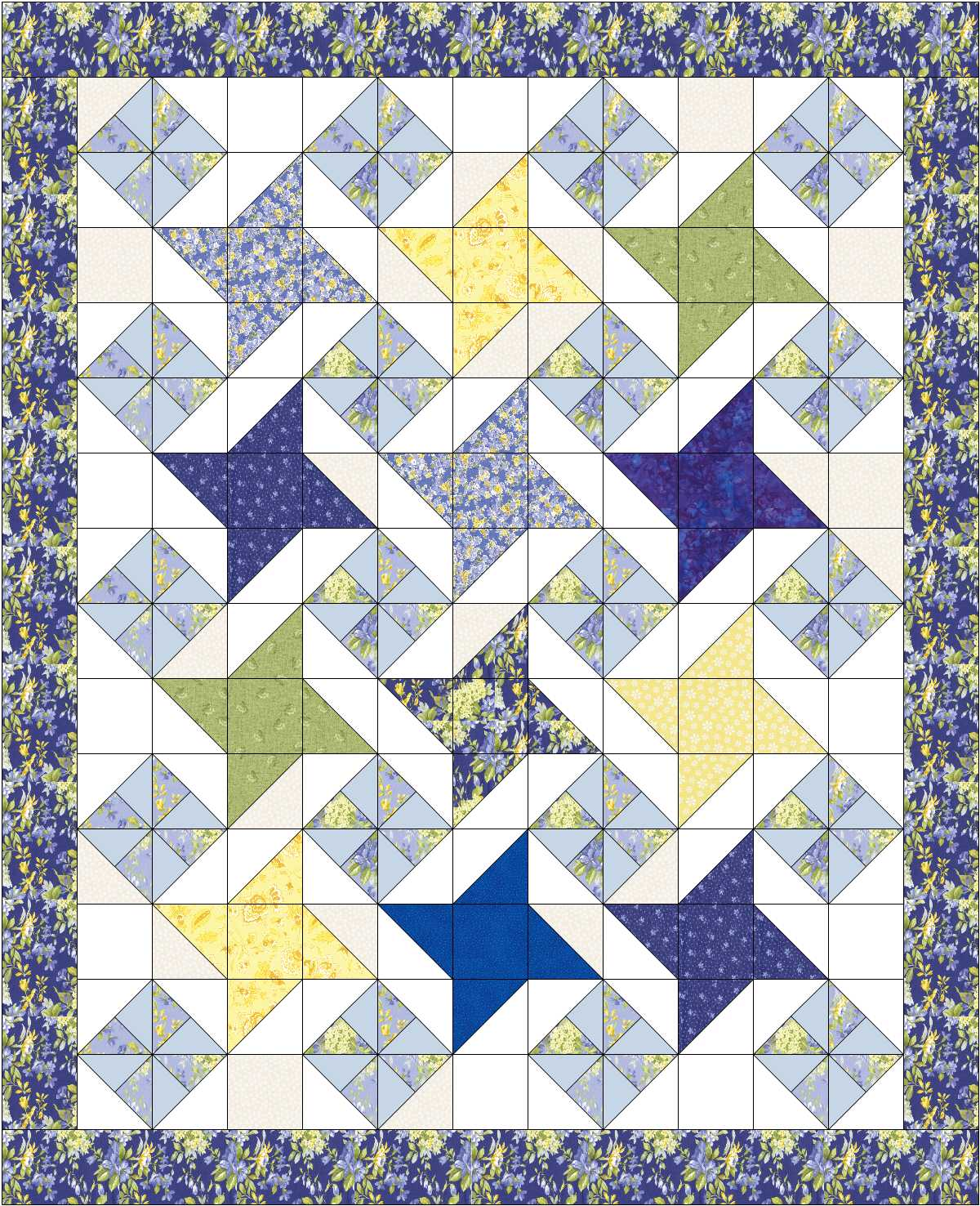 Quilty Friends Month 11 May 2012 Qf Friendship Star