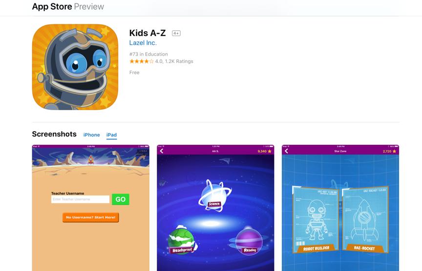 RAZ Kids: Leer Online