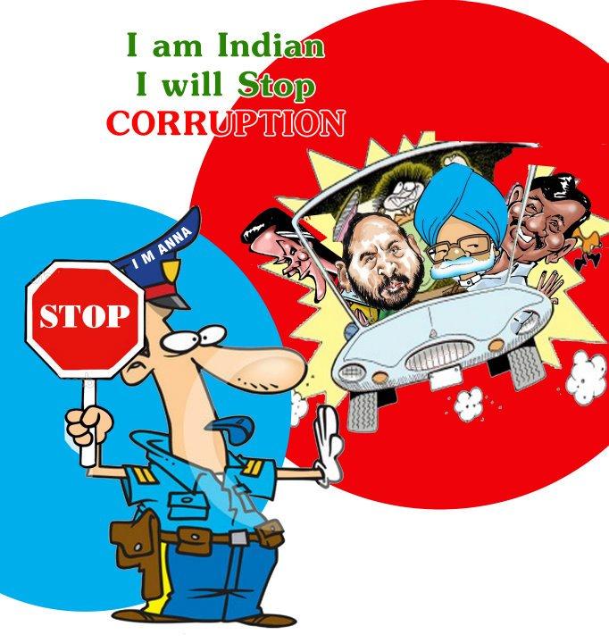 Overcome corruption in india