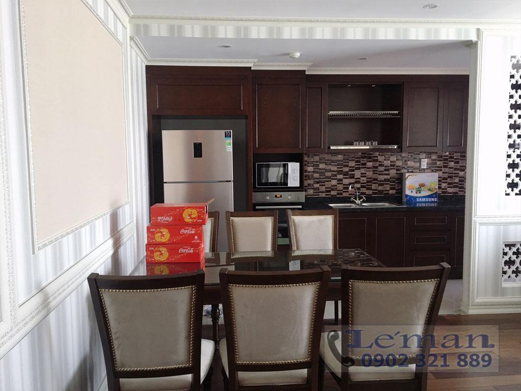Léman Luxury trên đường Nguyễn Đình Chiểu cho thuê căn hộ 2PN - hình 4