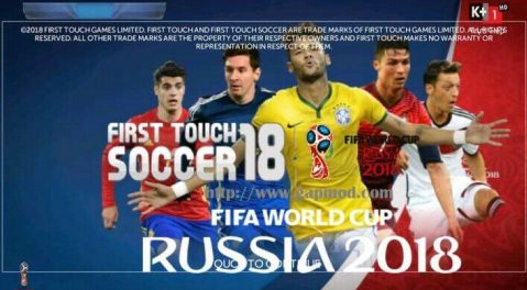 FTS 18 Mod Piala Dunia Rusia 2018 Terbaru