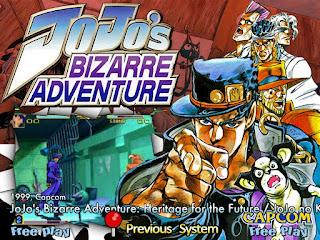 Jojo's Bizarre Adventure arcade ( Arcade )