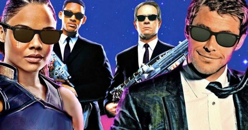 Images: Tessa Thompson Teases a Set Image From Men In Black Spinoff