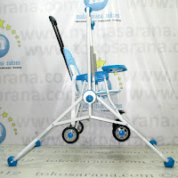 Baby Swing dan Chair Stroller Tajimaku BS203 Train 2 in One
