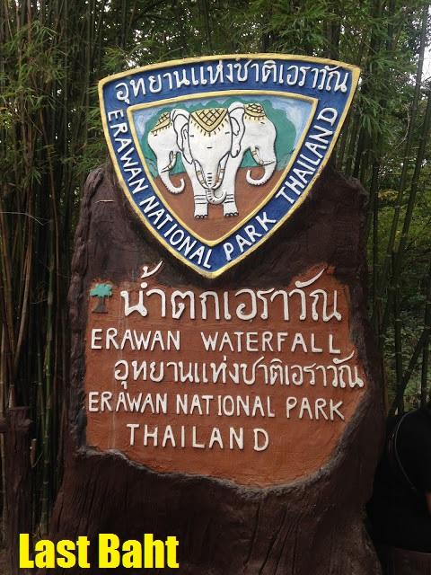 erawan national park, Kanachaburi, Thailand