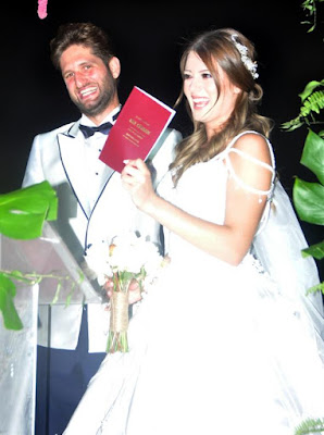 Gizem Karaca și Kemal Ekmekçi s-au căsătorit!