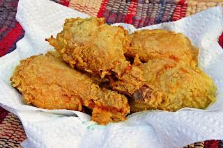 Cara membuat ayam goreng fried chicken renyah