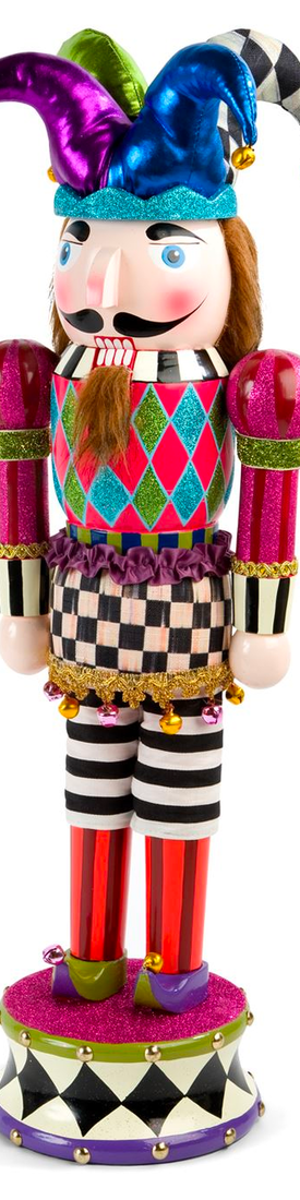 MACKENZIE-CHILDS JESTER NUTCRACKER FIGURINE