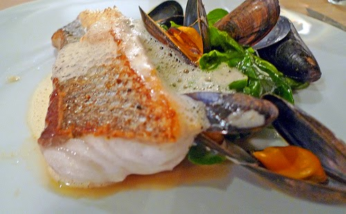 Behind the french menu bar or loup european sea bass for Fish bar manhattan beach menu