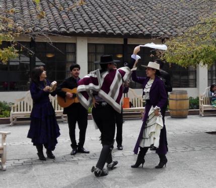 Cueca en Fiestas patrias Santiago Chile