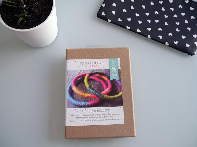 kit bracelets Phildar