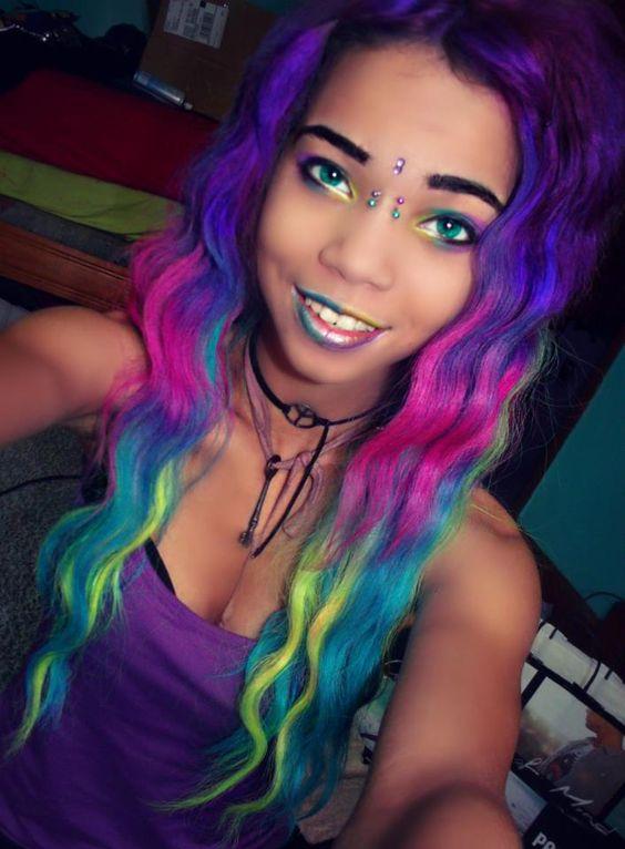 La Moda En Tu Cabello Cortes De Pelo Y Peinados Coloridos