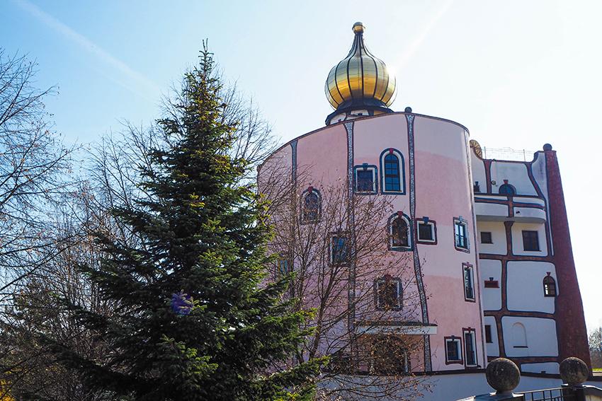 Rogner Bad Blumau Hundertwasser Architektur