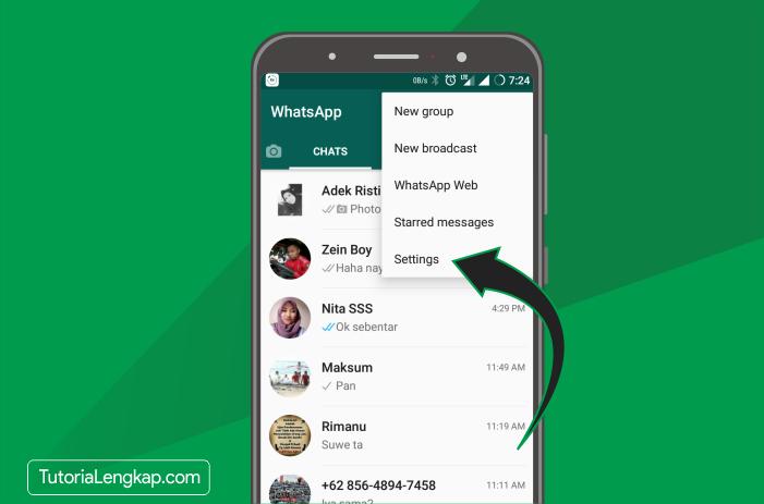 tutorialengkap cara mengganti nomor whatsapp yang sudah mati tanpa membuat akun whatsapp baru