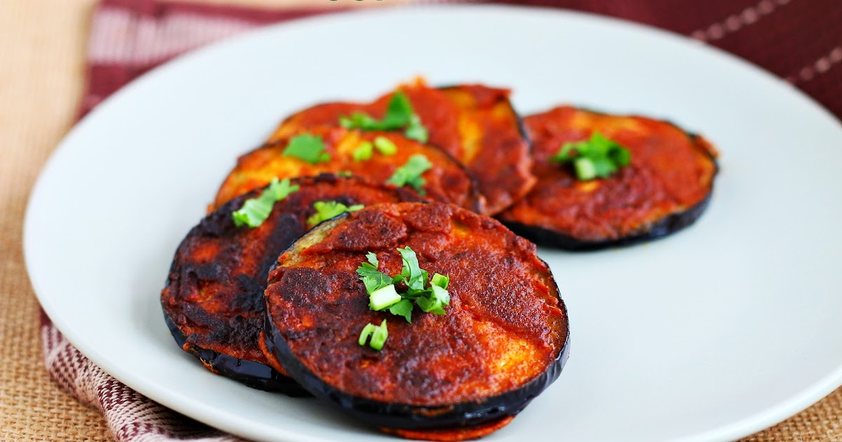Pan fried Eggplant  Easy brinjal recipes  Jeyashris Kitchen