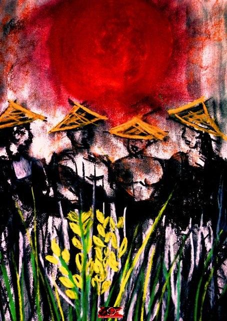 ANDREAS ISWINARTO: Seniman Yang Melawan Ketidakadilan Dengan Lukisan-Lukisan Bertema 'Dark Art'
