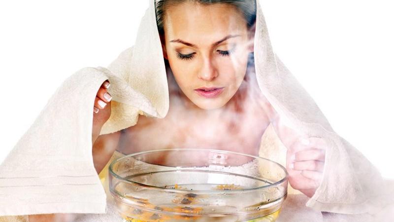 uap air panas untuk mengobati jerawat