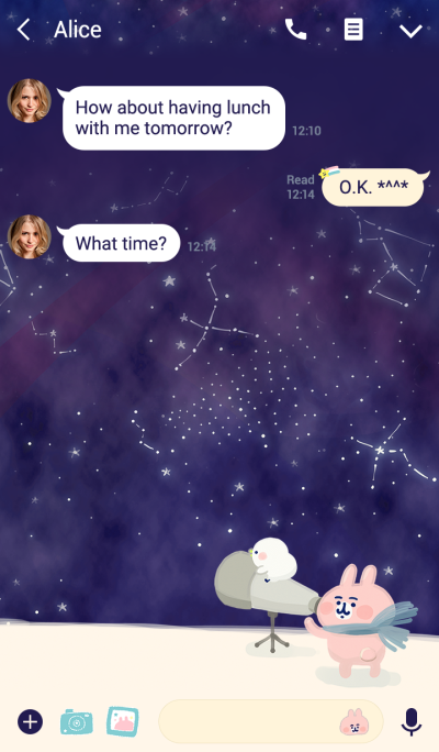 Piske & Usagi Starry Sky Observation