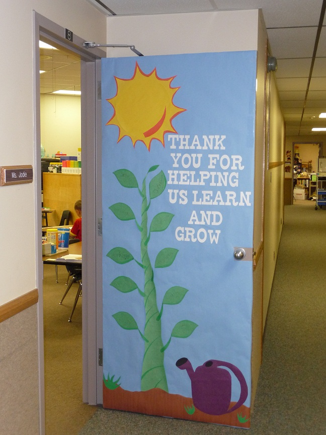 sunshine teacher appreciation door decorations