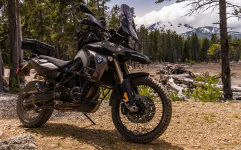 Wallpaper: BMW F800GS motorcycle